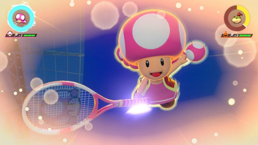 【マリオテニスエース】テクニック重視で勝つ!キノピコの使い方