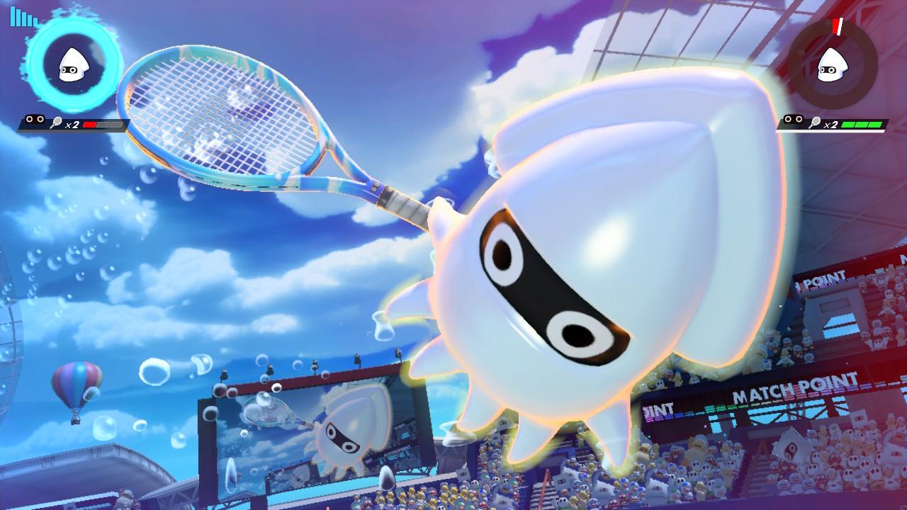 【マリオテニスエース】8月の新キャラ!ゲッソーの使い方・立ち回りについて解説